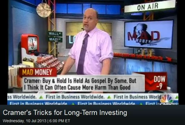 Screenshot of Jim Cramer