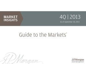 Screenshot of JP Morgan Guide to the Markets