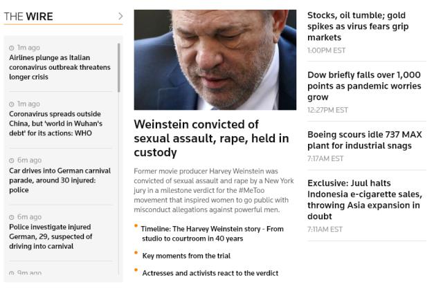 Reuters Homepage